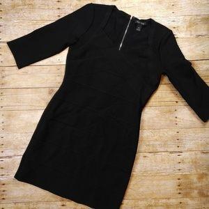 White House Black Market Black Bodycon Dress